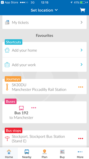 Bus Travel App | Stagecoach Bus App