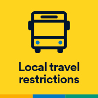Local travel restrictions