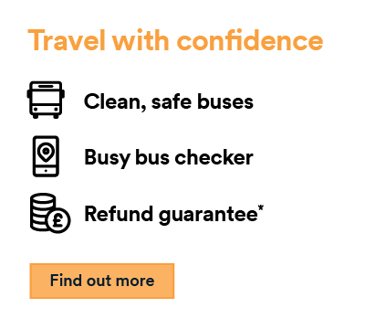 Travel with confidence find out more