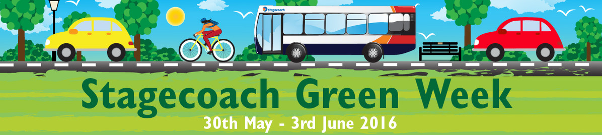Stagecoach Green Week banner
