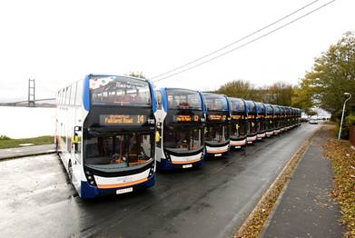 New buses in Hull