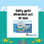 Skegness Seasiders - Salty gets stuck out at sea