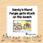 Skegness Seasiders - Sandy's friend Fergie gets stuck on the beach
