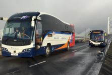 Forth Road Bridge reopening Stagecoach services using the bridge