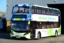 Electric Bus 1 Year