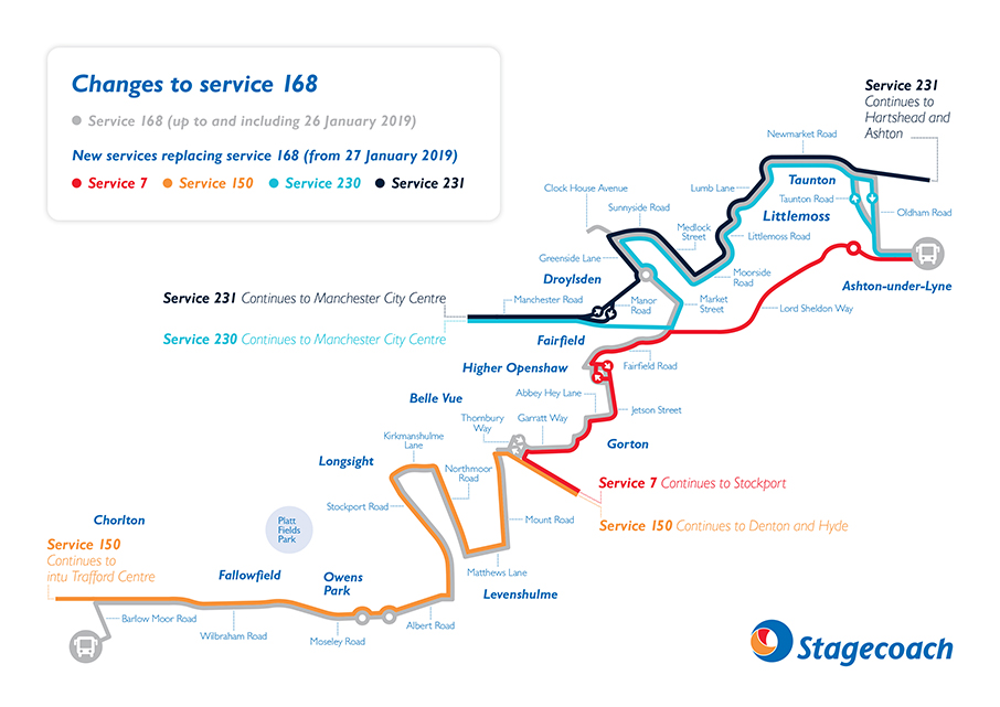 image of 168 replacement services from 27 January 2019