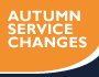 image for service change on Sunday 27 October 2019