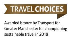 image of TfGM Travel Choices Bronze Accreditation