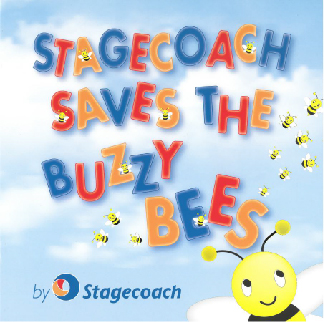Stagecoach Buzzy Bee book
