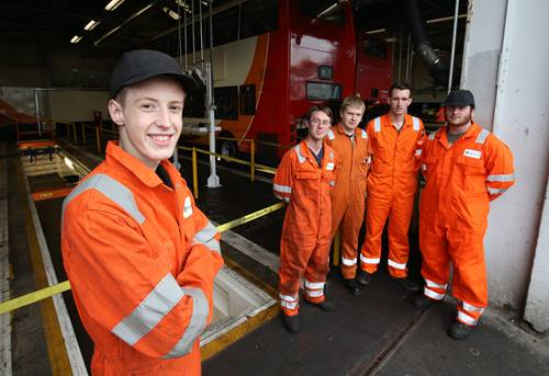 Stagecoach Merseyside apprentices