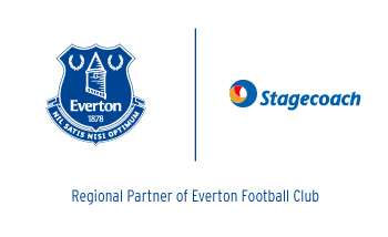 Everton and Stagecoach logo