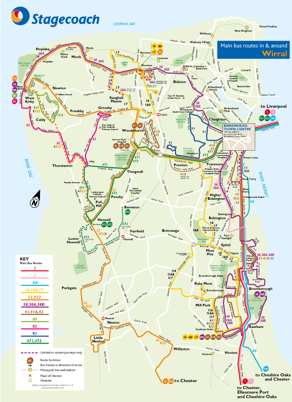 Wirral Network | Buses in Wirral | Stagecoach on