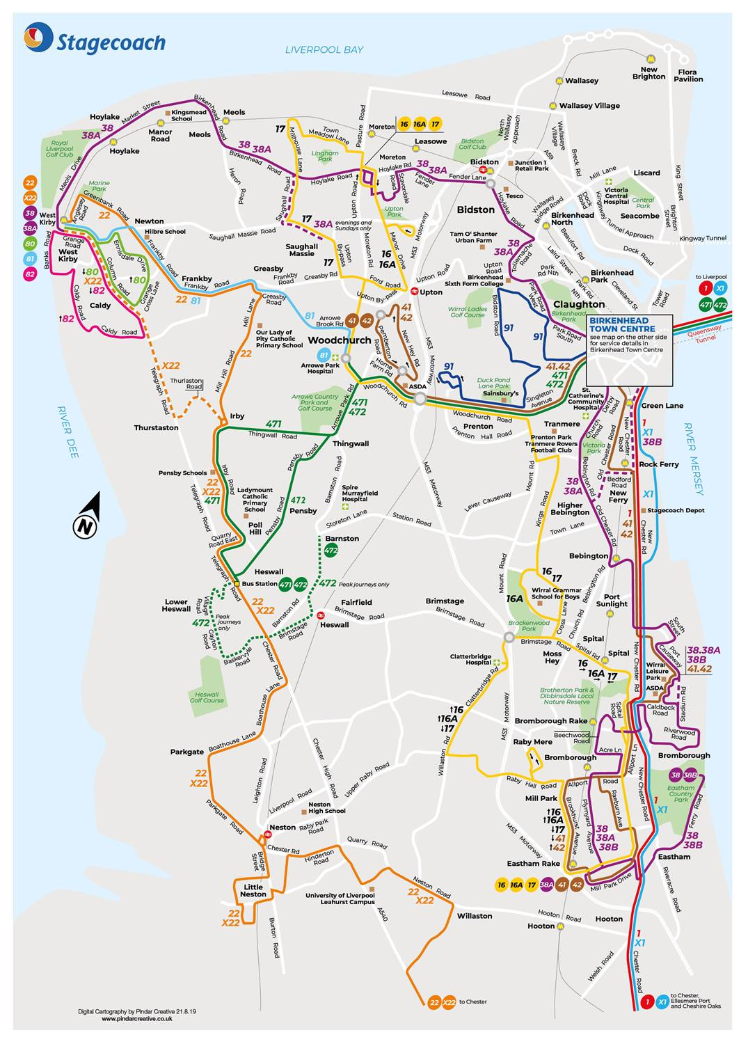 Wirral Network | Buses in Wirral | Stagecoach