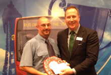 Stagecoach Midlands UK Bus driver of the year