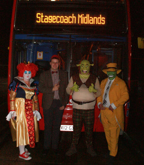 Fancy Dress Drivers