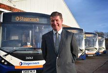 New bus fleet Slatyford