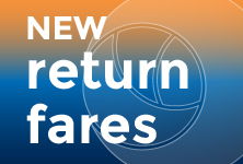 NEW return fares