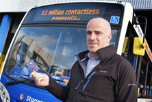 Contactless £1 million