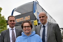 Newcastle bus launch