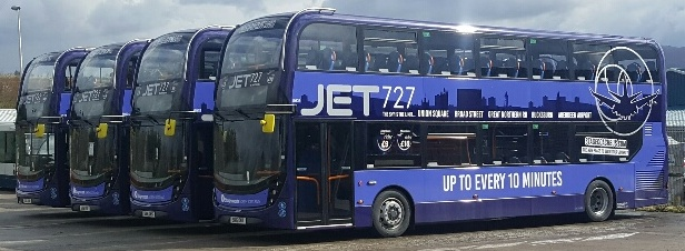 All new JET 727