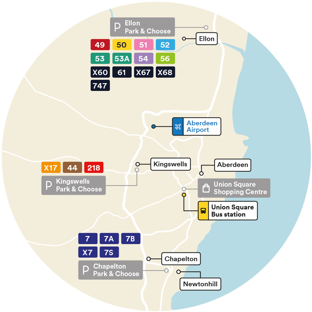 Park and Ride Map Services