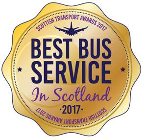 Best Bus Service in Scotland 2017
