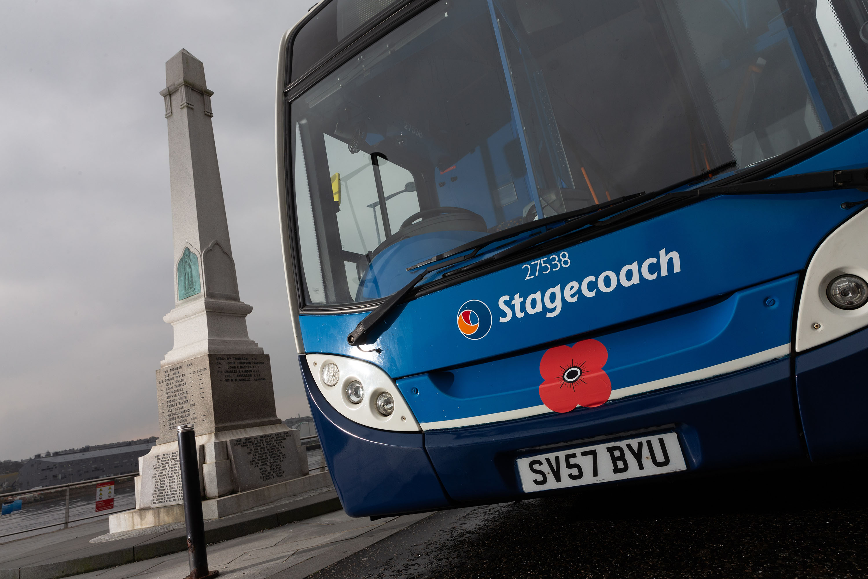 Stagecoach Remembrance Day Bus