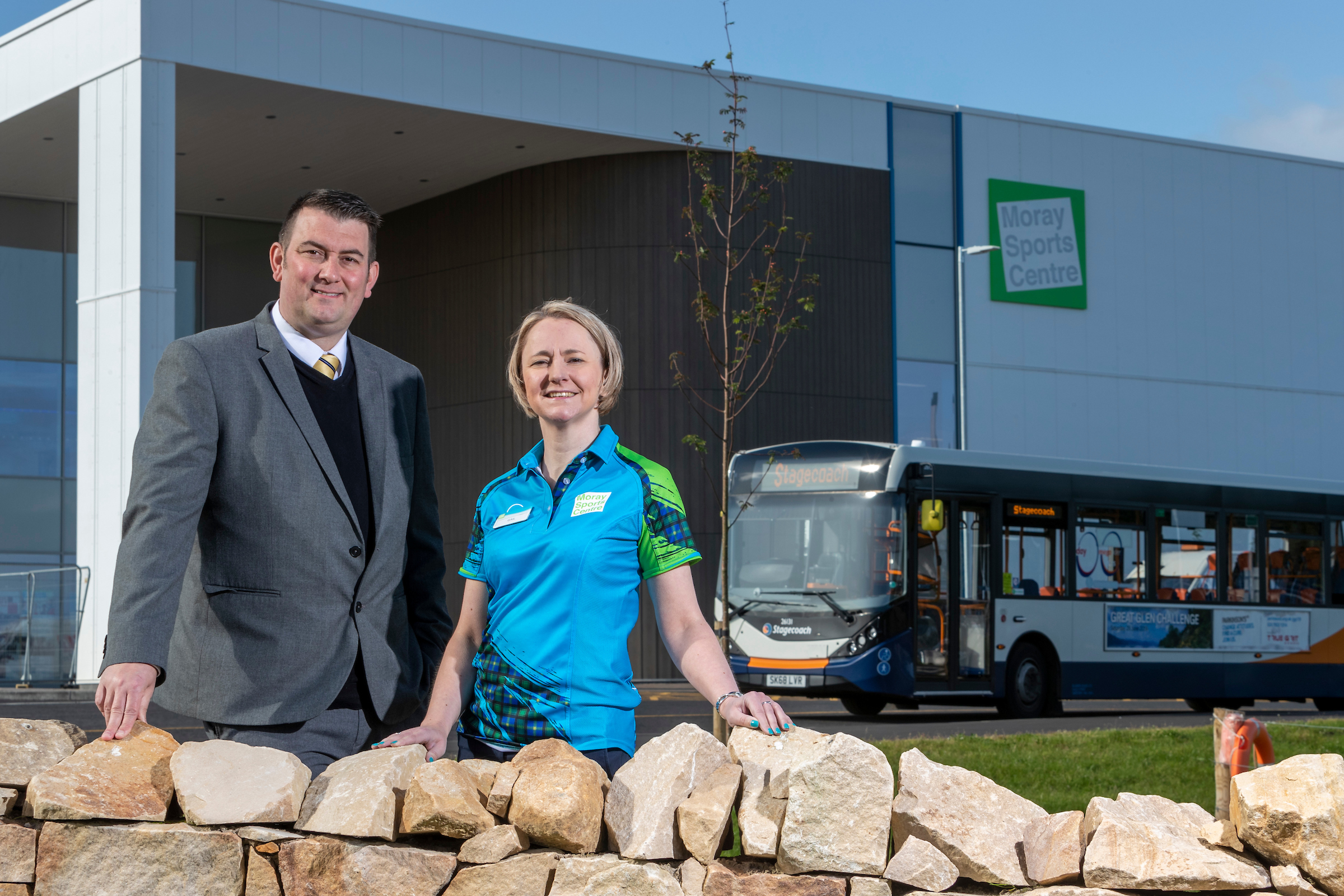 Elgin Bus boasts Route Extension to New Sports Centre