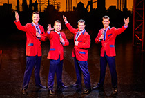 Jersey boys at the New Theatre Oxford