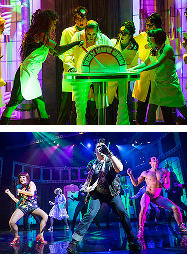 Rocky horror show on stage images