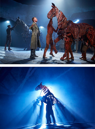 Catch the bus to War Horse at the New Theatre Oxford
