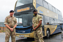 Free travel for Armed Forces Day