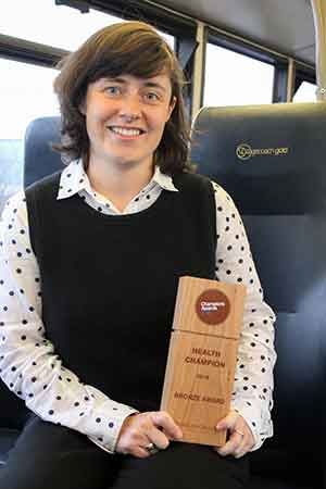 Stagecoach employee wins at national champions award