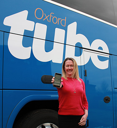 Oxford Tube app returns with brand new app and fleet