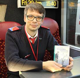 Oxford Tube driver pens first novel
