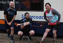 Bus drivers lace up their running shoes for Brighton Marathon