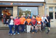 Witney cycle ride for HDH
