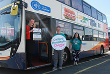 Stagecoach teams up with Oxford Hospitals Charity