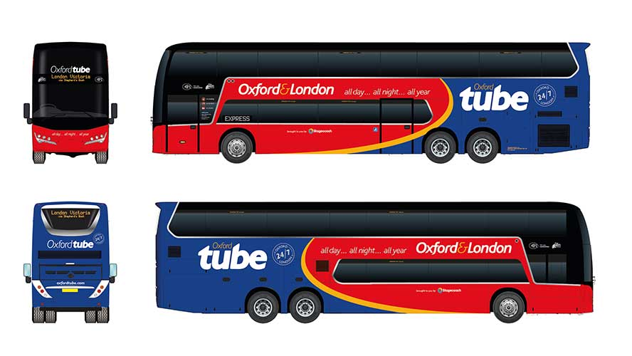 New coaches for Oxford Tube this Summer