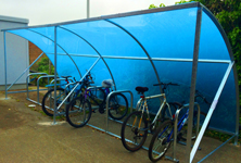 Green Week Bike Shelter