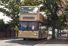 Thanet open-top bus