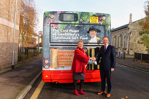 Lord Mayor Christmas Bus
