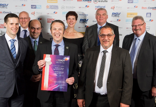SW Falcon Silver win at UK Coach Awards