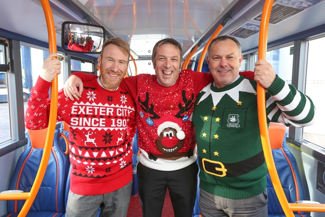 Christmas jumper day 2017 Exeter