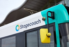 Stagecoach Bus single deck logo 222 x 150