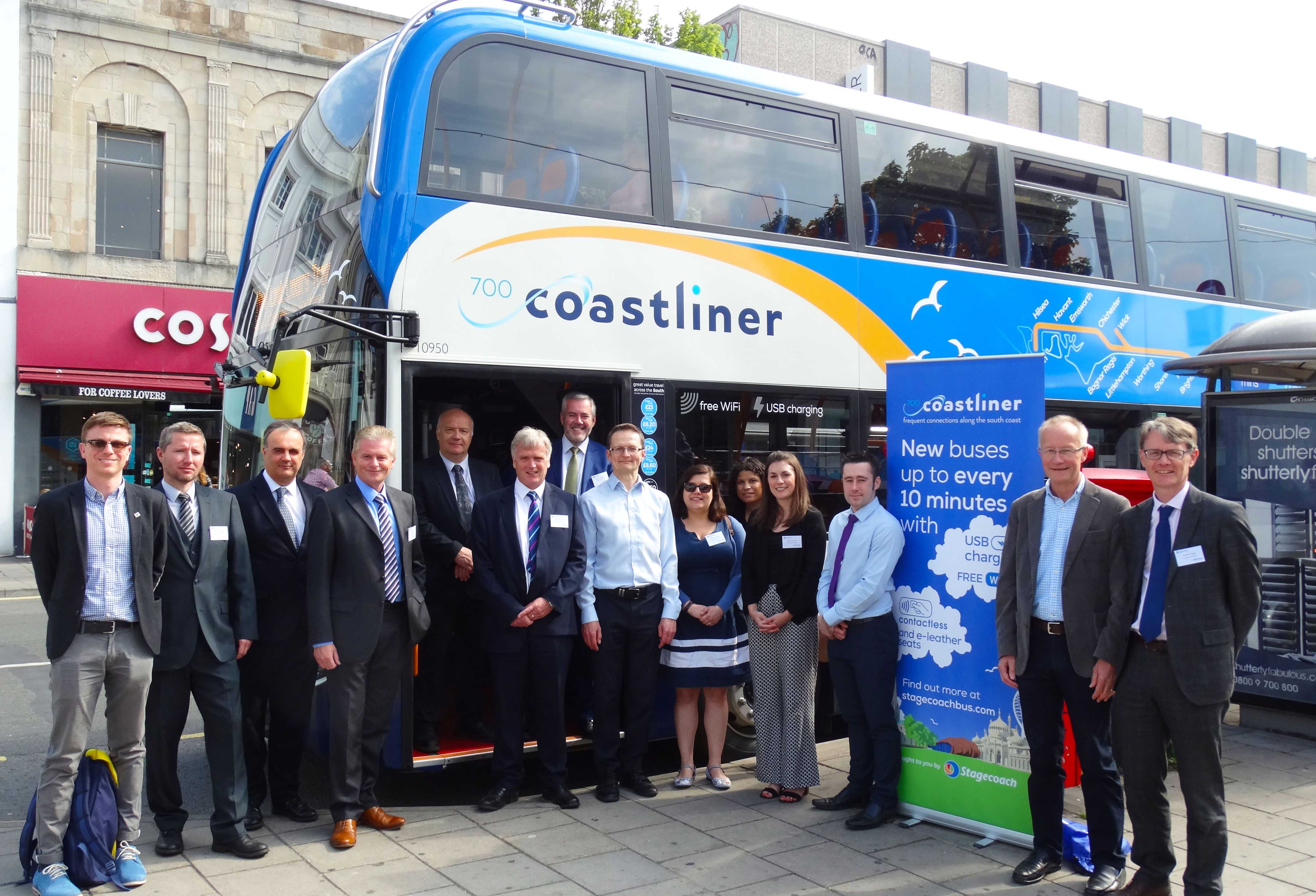 Coastliner Launch 30 New Buses May 18