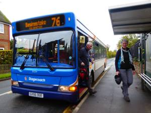 Whitchurch bus walks