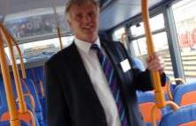 Richard Smith in Bus