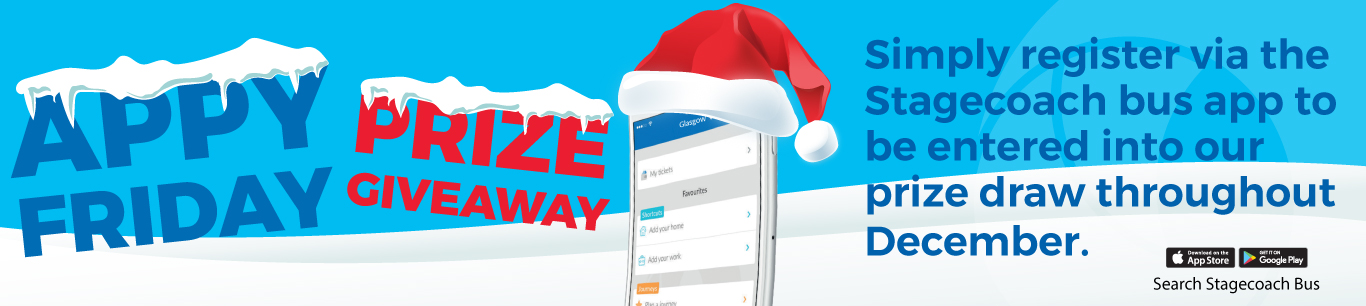 Stagecoach West Scotland Christmas Prize Draw Competition