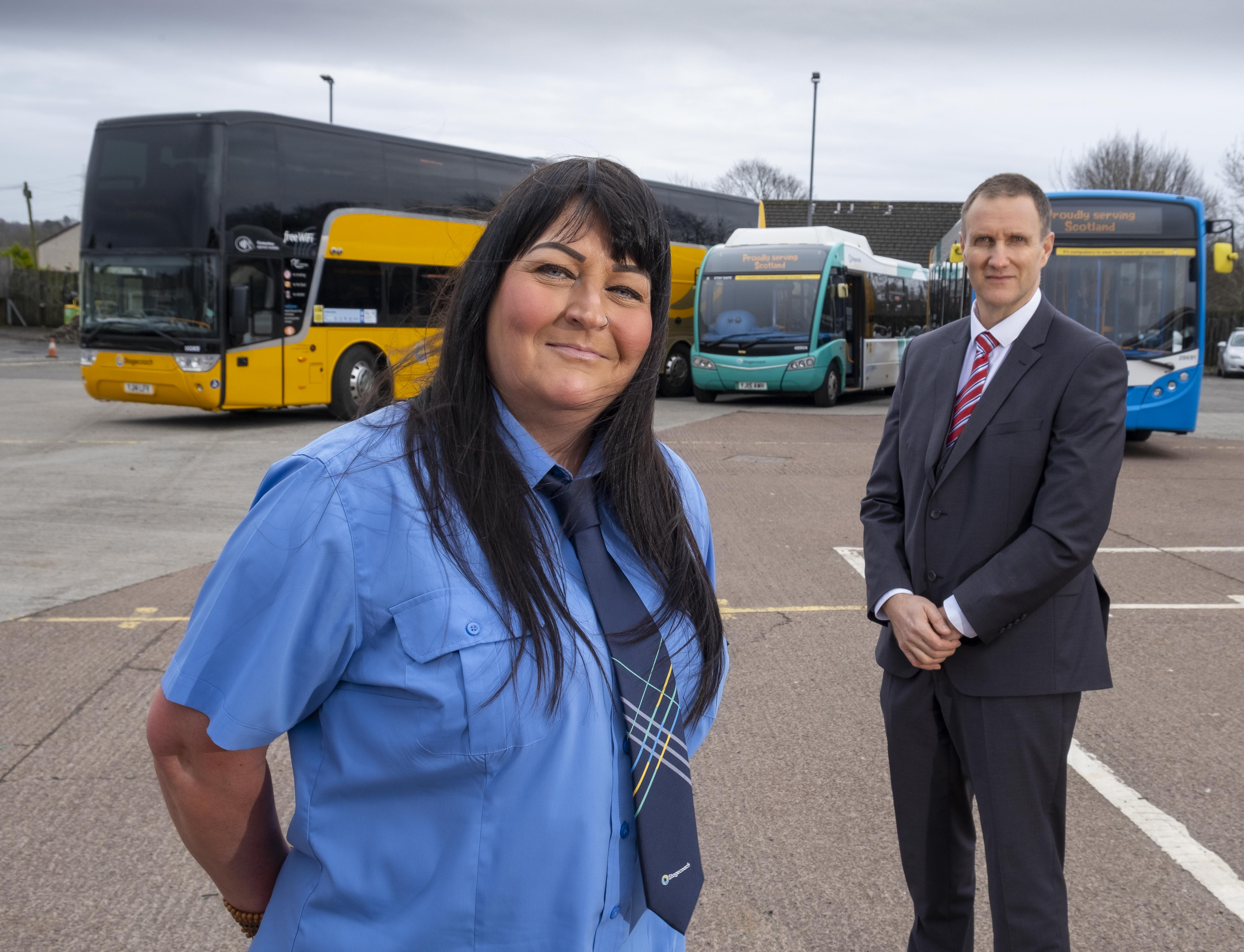 Stagecoach Driver Ayrshire